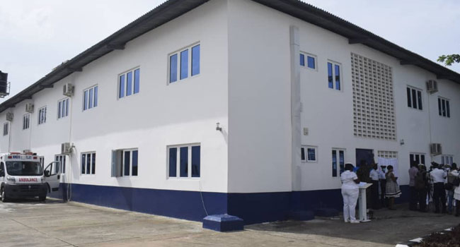 Navy Commissions 40-Bed Capacity Isolation Centre