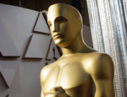 In this file photo taken on February 08, 2020 an Oscars statue is displayed on the red carpet area on the eve of the 92nd Oscars ceremony at the Dolby Theatre in Hollywood, California. Mark RALSTON / AFP