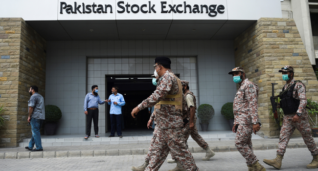 Four Killed In Attack On Pakistan Stock Exchange