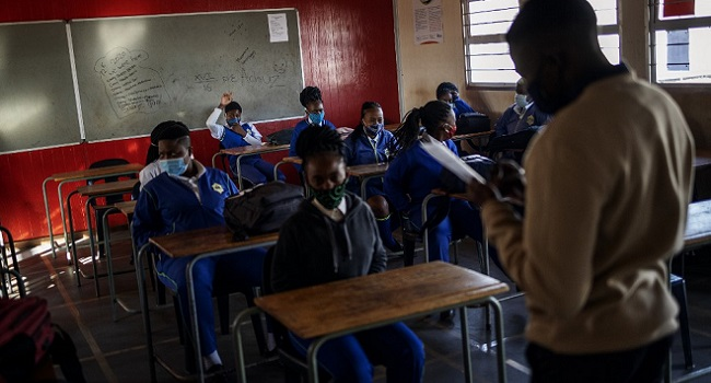 South African Schools Reopen After Easing Of COVID-19 Lockdown