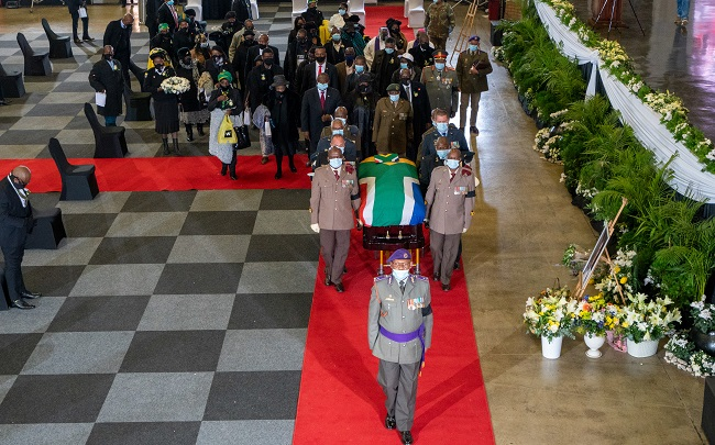 South African Anti-Apartheid Icon Mlangeni Laid To Rest