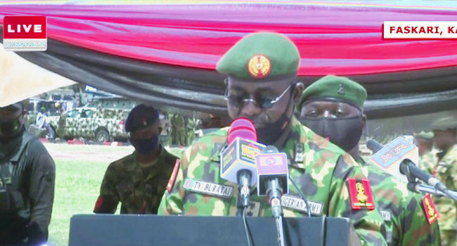 Army Remains Committed To Winning Insurgency War – Buratai