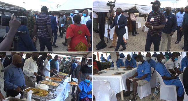 Boko Haram: Buratai Visits Wounded Soldiers In Kaduna