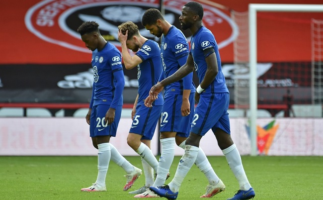 Dismal Chelsea Humbled In Blades Battering