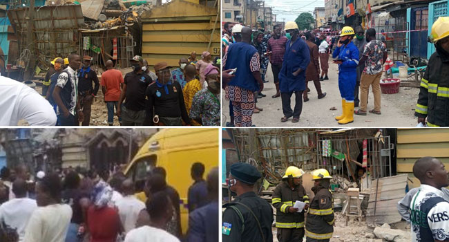 Many Trapped, Some Feared Dead As Building Collapses In Ebute Metta