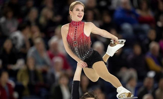 Olympic Figure Skater Alexandrovskaya Dies Aged 20