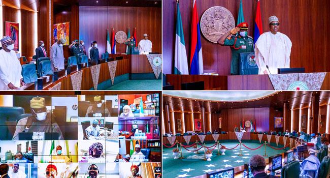 UPDATED: Buhari Presides Over Virtual FEC Meeting