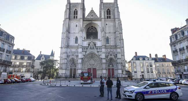Rwandan Confesses To Setting French Cathedral On Fire