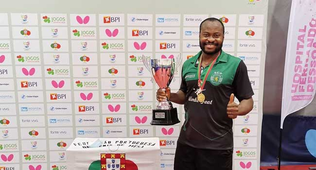 Aruna Quadri Assists Sporting To Win 37th Title In Portugal