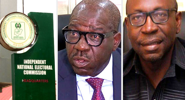 INEC Clears Obaseki, Ize-Iyamu, 12 Others For Edo Governorship Election