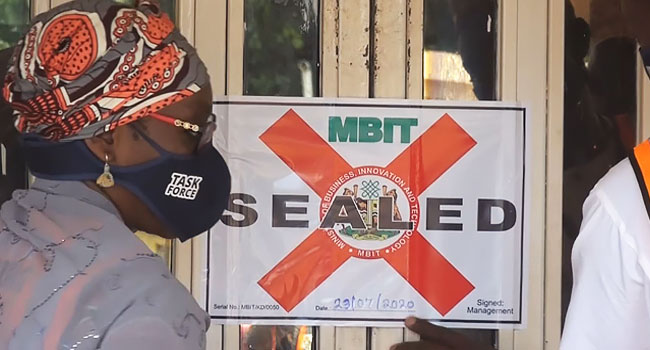 COVID-19: Kaduna Govt Seals Hotels, Restaurants For Violating Safety Protocols