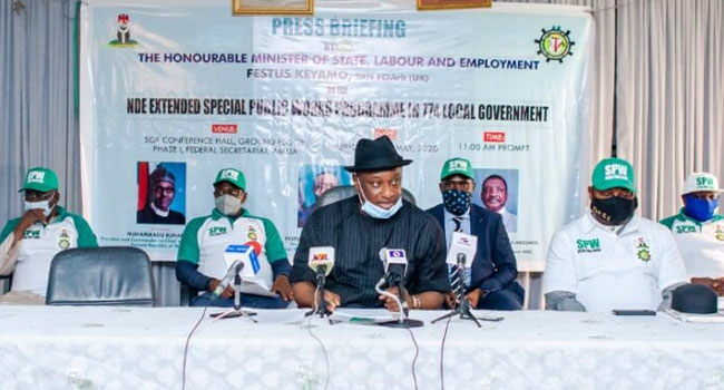 FG Releases Details Of Special Programme To Employ 774,000 Nigerians