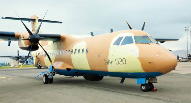 NAF Takes Delivery Of Reactivated Aircraft To Boost Insurgency War