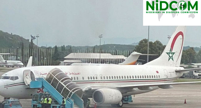 About 102 Stranded Nigerians Arrive In Abuja From Morocco