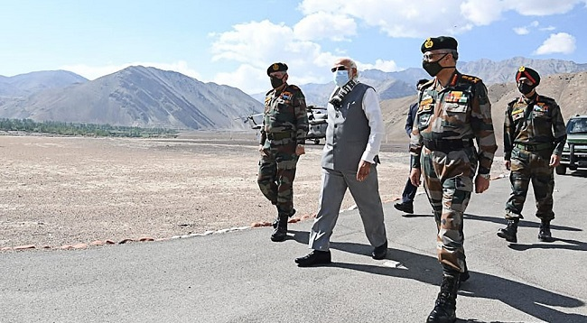 India's Modi Makes Surprise China Border Visit After Clash
