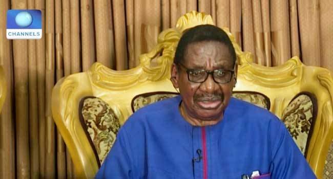 Itse Sagay Wants Buhari To Sack NDDC Interim Management Committee