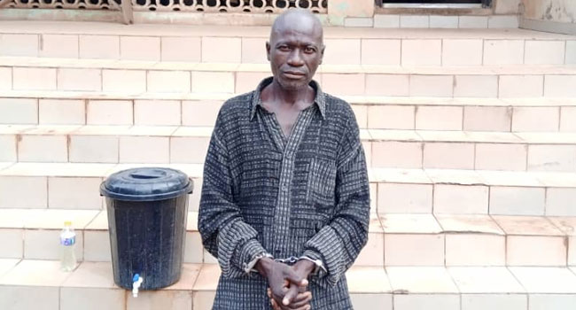 59-Year-Old Pastor Arrested For Raping Minor In Ogun