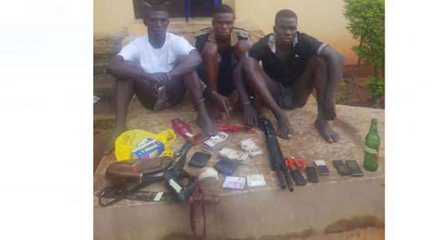 Three Suspected Highway Robbers Arrested In Ogun