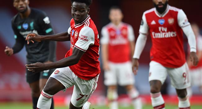 We Won't Beg Arsenal's Bukayo Saka To Play For Nigeria, Says Pinnick