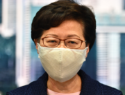 Hong Kong Chief Executive Carrie Lam speaks during a press conference at the government headquarters in Hong Kong on July 31, 2020. Anthony WALLACE / AFP
