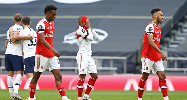 Tottenham Beat Arsenal To Leave Gunners Europe Dreams Hanging In Balance