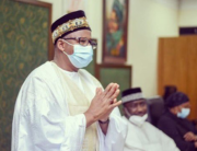 A photo of Bauchi state Governor, Bala Mohammed, published by his media team on July 4, 2020.
