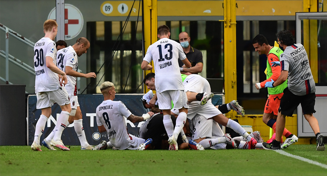 Inter Milan's Serie A Title Hopes All But Gone After Bologna Defeat