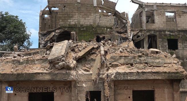 Three-Storey Building Collapses In Ebonyi