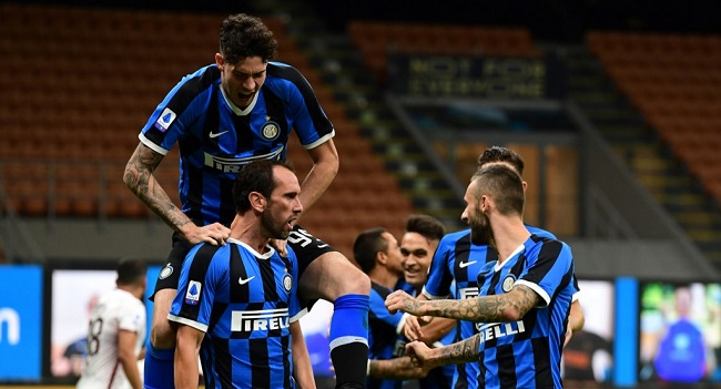 Inter Move Second, Close In On Champions League With Torino Win