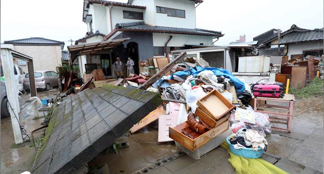 14 Feared Dead In Nursing Home As Heavy Rain Lashes Western Japan