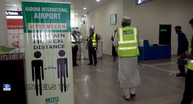 Flights Resume At Kaduna Airport