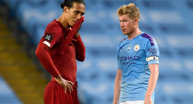 Man City Whitewash Premier League Champions Liverpool 4-0