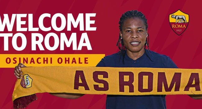 AS Roma Sign Nigerian Defender Osinachi Ohale