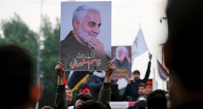 Iran's top general Qasem Soleimani