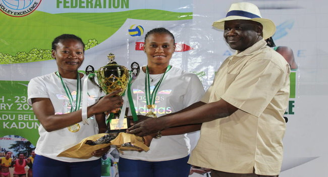 Beach Volley Ball: Nimrod Gives Olympics Qualification Assurance