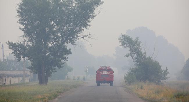 Russia Battles Wildfires In Siberia Amid Record Summer Temperatures