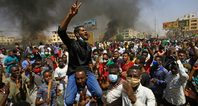 Hundreds Protest In Sudan Over Insecurity