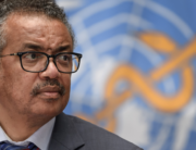 World Health Organization (WHO) Director-General Tedros Adhanom Ghebreyesus attends a press conference organised by the Geneva Association of United Nations Correspondents (ACANU) amid the COVID-19 outbreak, caused by the novel coronavirus, on July 3, 2020 at the WHO headquarters in Geneva. Fabrice COFFRINI / POOL / AFP