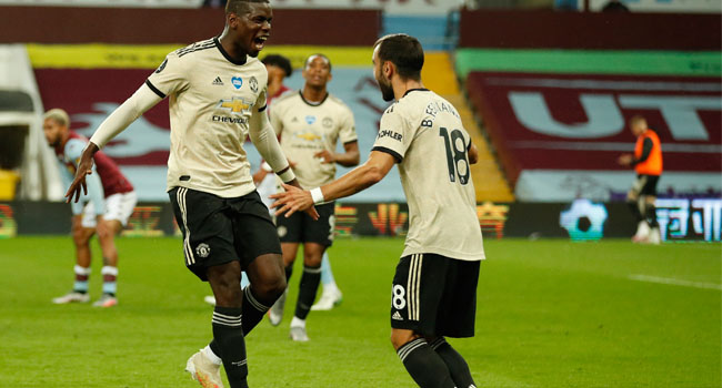 Pogba Scores First Goal In Over One Year As United Make Premier League History