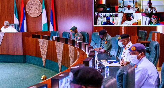 What Buhari, Governors, Others Discussed At Security Meeting