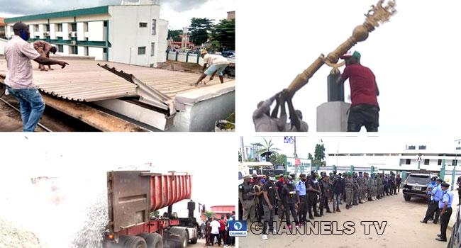 Drama As Men Smash Mace, Destroy Property At Edo Assembly