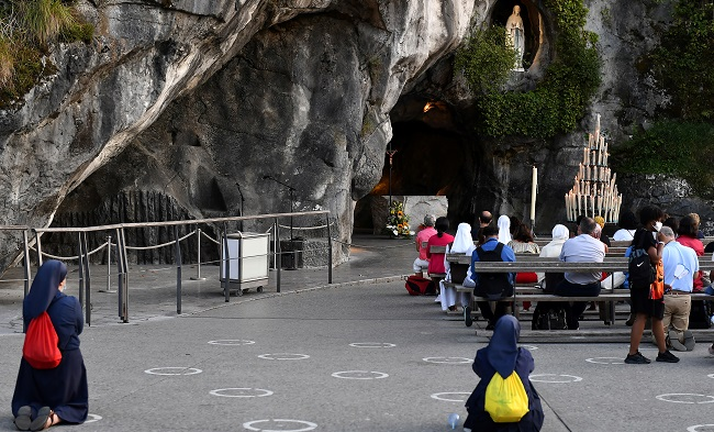 Cardinal Delivers Message Of 'Hope' As Pilgrims Stay Away From Lourdes Celebration