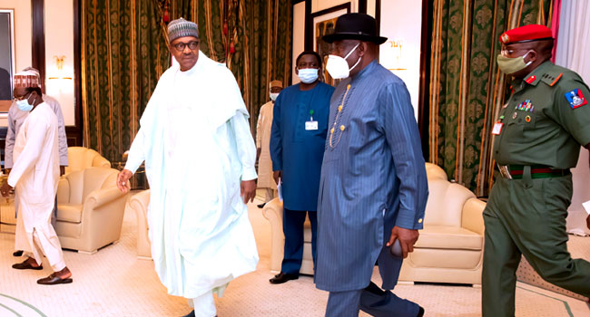 Malian President No Longer Interested In Power, Jonathan Tells Buhari