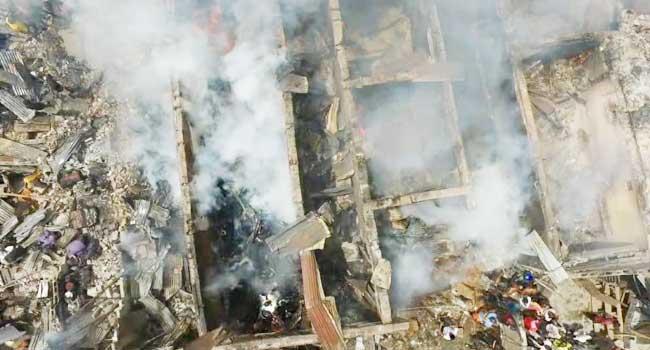 Fire Razes Mattress Market In Mushin
