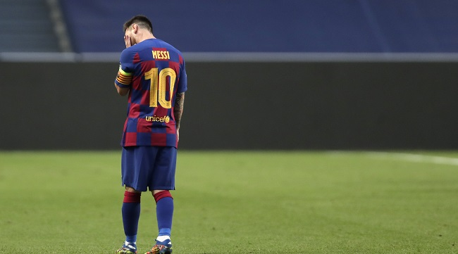Recovery Or Separation For Messi As Barcelona Face Up To Change