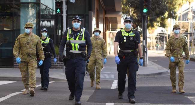 COVID-19: Australia Imposes Curfew On Second-Biggest City