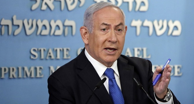 Netanyahu Vows 'Forceful' Response If More Attacks From Lebanon