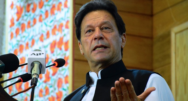 Pakistan PM Khan Slams 'Oppressor' India On Kashmir Anniversary
