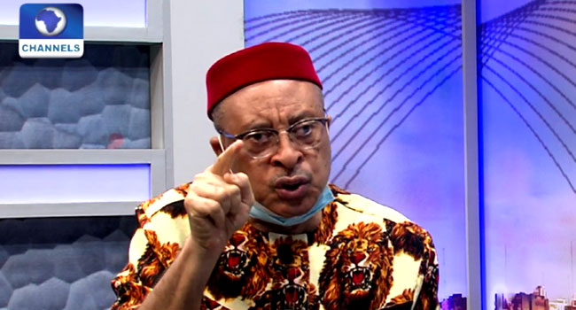 Leadership Absent In Nigeria, Govt Is Crippled – Pat Utomi