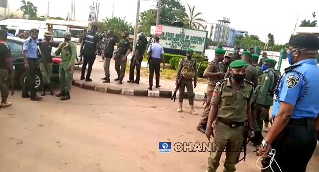 Police Take Over Edo Assembly Complex